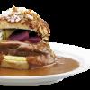 Stor Bøfsandwich menu